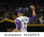 Zack Greinke Pitcher For The...