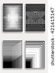 poster empty design templates.... | Shutterstock .eps vector #421615147