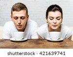 coffee for lovers | Shutterstock . vector #421639741