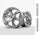 Aluminum Wheel Image 3d High...