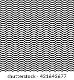 linear waves | Shutterstock . vector #421643677