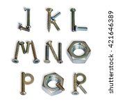 Letters J   R. Alphabet Made O...