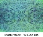 grunge wall  highly detailed... | Shutterstock . vector #421655185