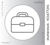 briefcase  linear icon