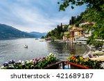 lake como  milan  italy | Shutterstock . vector #421689187