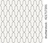 oriental tiling pattern ... | Shutterstock .eps vector #421717201