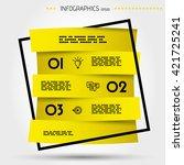 infographic concept.... | Shutterstock .eps vector #421725241