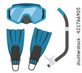 Snorkeling Equipment. Diving...