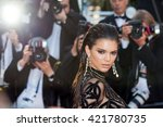 cannes  france   15 may 2016  ... | Shutterstock . vector #421780735