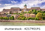 panorama of the city of... | Shutterstock . vector #421790191