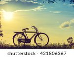 beautiful landscape image with... | Shutterstock . vector #421806367