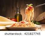 Spaghetti With Amatriciana...