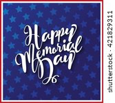 Happy Memorial Day Type Design...
