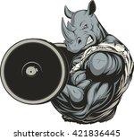 vector illustration of a... | Shutterstock .eps vector #421836445