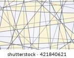 line design for background | Shutterstock . vector #421840621