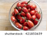 plate of tomatoes | Shutterstock . vector #421853659