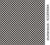 seamless monochrome polka dot... | Shutterstock .eps vector #421854064