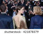 cannes  france   15 may 2016  ... | Shutterstock . vector #421878379