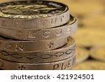 Close Up Of British Money ...