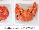 Closed Up Fresh Japanese Crab...