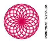 abstract vector illustration.... | Shutterstock .eps vector #421928605