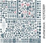 mega set of design resources | Shutterstock .eps vector #421932889