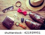 clothing and accessories for... | Shutterstock . vector #421939951