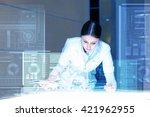 using innovative technologies | Shutterstock . vector #421962955