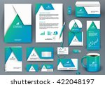 professional universal blue... | Shutterstock .eps vector #422048197