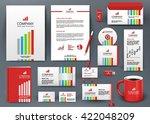 professional universal branding ... | Shutterstock .eps vector #422048209