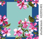 background . seamless pattern.... | Shutterstock . vector #422051401