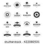 vintage logos design templates... | Shutterstock .eps vector #422080531