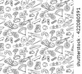extreme hand drawn doodle... | Shutterstock .eps vector #422080591