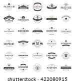 vintage logos design templates... | Shutterstock .eps vector #422080915
