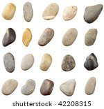 stones and on white background. ...   Shutterstock . vector #42208315