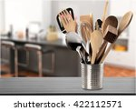 kitchen utensil. | Shutterstock . vector #422112571