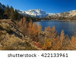 June Lake In The Eastern Sierr...