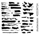 set of various grunge design...   Shutterstock .eps vector #422134714