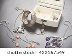 A Collection Of Vintage Jewelr...