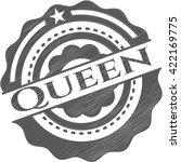 Queen Drawn With Pencil Strokes