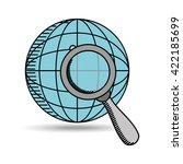 social media design  | Shutterstock .eps vector #422185699