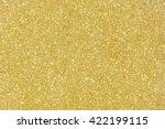 golden glitter texture... | Shutterstock . vector #422199115