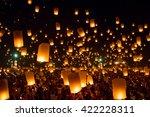 chiang mai thailand  october 25 ... | Shutterstock . vector #422228311