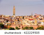 panoramic view of meknes  a... | Shutterstock . vector #422229505