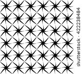 seamless grid pattern. abstract ... | Shutterstock .eps vector #422238484