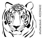 tiger | Shutterstock .eps vector #42224632
