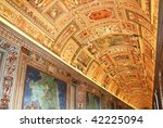 italy. rome. vatican museums.... | Shutterstock . vector #42225094