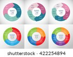 collection of infographic... | Shutterstock .eps vector #422254894