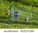 Abandoned Shopping Cart With A...