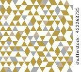 seamless golden pattern of... | Shutterstock .eps vector #422263735